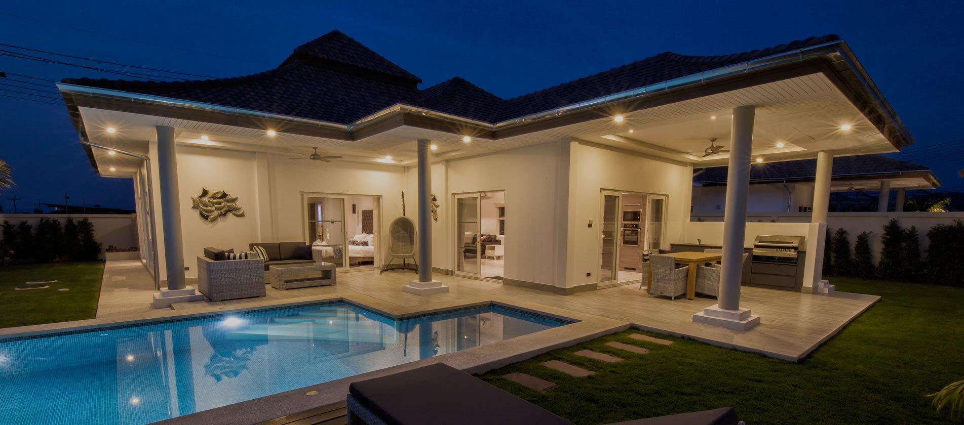 Luxury Villas In Hua Hin | Orchid Palm Homes. Luxury Pool Villas