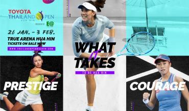 Toyota Thailand Tennis Open | Hua Hin