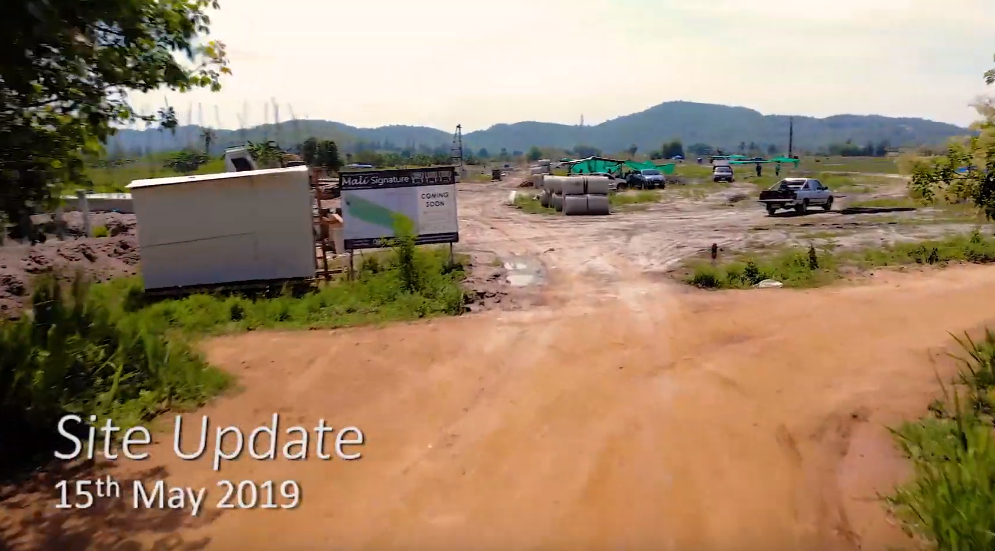 Mali Signature | Hua HIn Property | Site Update May 2019