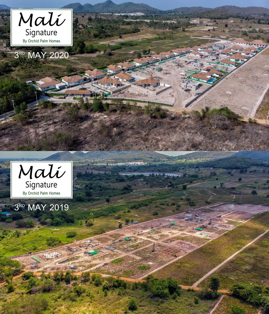 Mali Signature | 1 Year Construction Progress