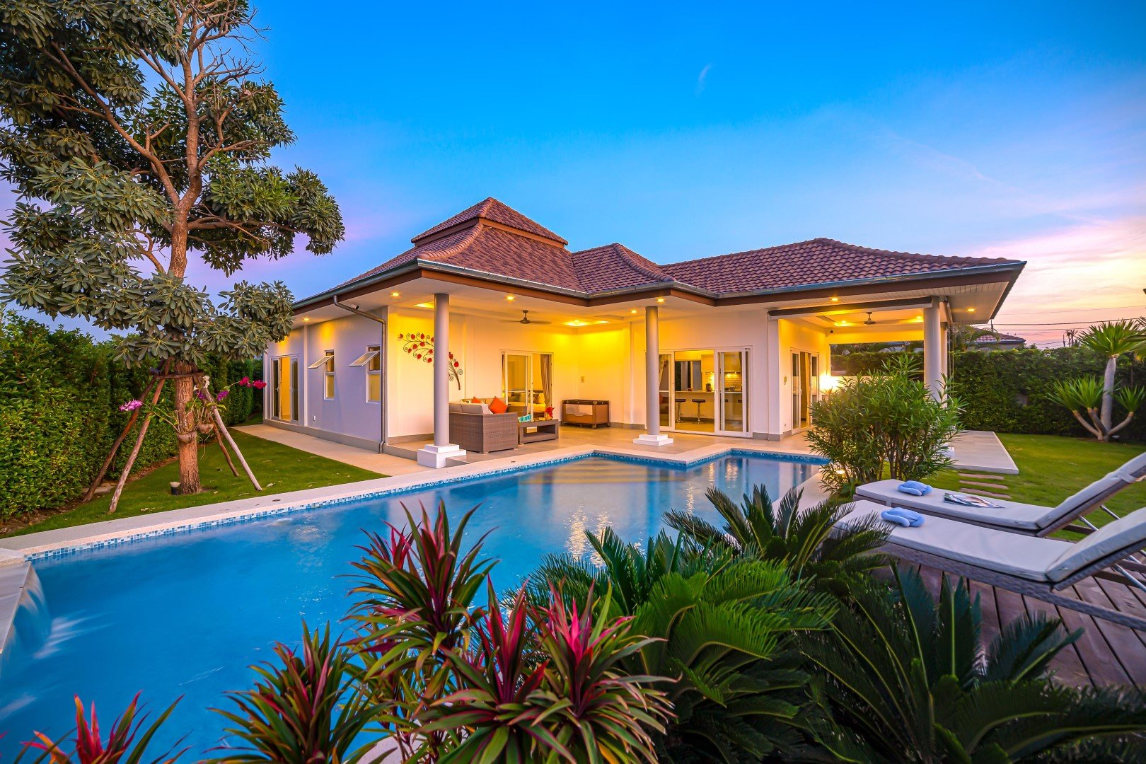 Luxury Rental Property in Hua Hin | Mali Signature | Orchid Palm Homes