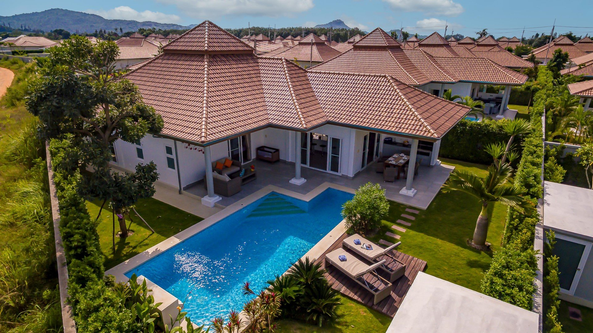 3 Bedroom Villa for Rent | Rental Property in Hua Hin | Orchid Palm Homes